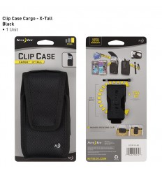 Nite Ize - Etui na telefon / smartfon - Clip Case Cargo - Extra Tall - Czarny - CCCXT-01-R3