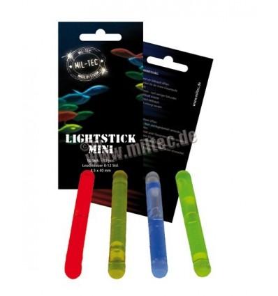 Mil-Tec - Lightstick światła chemiczne - Mini - 4,5x40mm x 10szt. - Czerwony