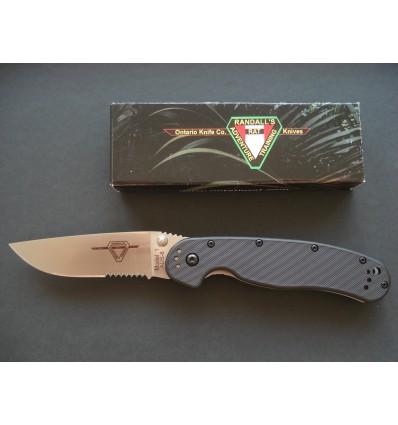 Ontario - RAT 1 Folding Knife - 8849 Serrated - Nóż składany