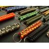 MALAMUT - Brelok surwiwalowy do kluczy Salamandra - Paracord 1m (MADE USA) - Orange