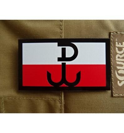 KAMPFHUND - Naszywka Polska Walcząca - Duża - Kolor - Gen II IR
