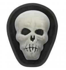 Maxpedition - Naszywka micro - Hi Relief Skull Micropatch - MCHSZ - GLOW