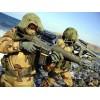 Fosco - Chusta snajperska / Siatka maskująca 175x100cm- Combat Scarf - Desert Camo