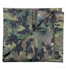 101 Inc. - Płachta / Plandeka Tarpaulin - 2,9x4m - Woodland
