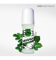 Mugga - Preparat odstrzaszający owady Kleszcze Komary Meszki- 20% DEET - Roll-On - 50ml
