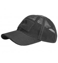 Helikon - Czapka z daszkiem - Baseball Mesh Cap - Czarny - CZ-BBM-PO-01