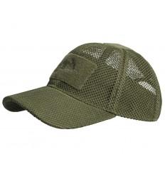 Helikon - Czapka z daszkiem - Baseball Mesh Cap - Zielony OD - CZ-BBM-PO-02
