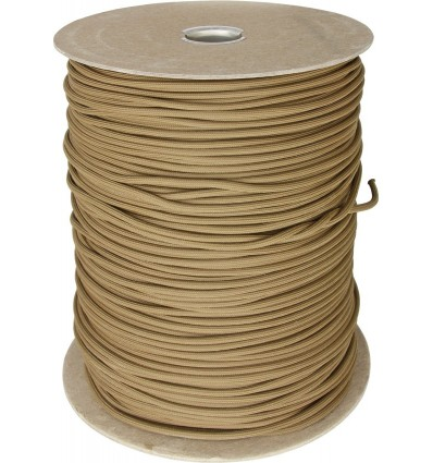 Paracord MIL-SPEC 550-7 / 4mm kontraktowy Coyote Brown MADE IN USA - 1 metr