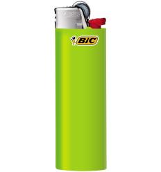BIC - Zapalniczka gazowa / krzesiwowa J26 - Neon Zielony