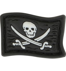 Maxpedition - Naszywka micro - JOLLY ROGER Skull Micropatch - MCJRZ - GLOW