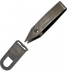 Silver Gripper - Pęseta Sliver Gripper Tweezers with Clip - Black Oxide