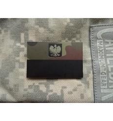 Combat-ID - Naszywka Polska Herb - Mała - Pantera Leśna - NIR