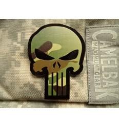 Combat-ID - Naszywka Punisher - Gen II IR - Woodland