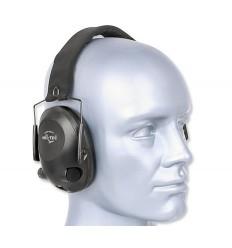 Mil-Tec Plus - Słuchawki Aktywne - EED - Czarny - 16243002