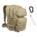 Mil-Tec - Plecak Assault Pack Large - 36 Litrów- Coyote Brown - 14002205