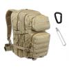 Mil-Tec - Plecak Assault Pack Large - 36 Litrów- Coyote Brown - 14002205