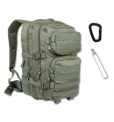 Mil-Tec - Plecak Large Assault Pack - 36 Litrów - Zielony OD