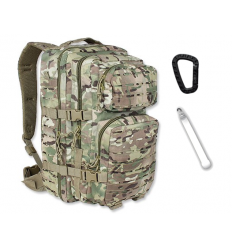 Mil-Tec - Plecak Large Assault Pack - Laser Cut - 36 litrów - Multicam / Multitarn