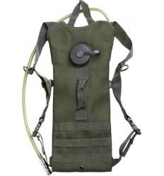 Mil-Tec - Plecak z wkłądem hydracyjnym - Hydration Pack BASIC 3,0L - Zielony OD - 14537101