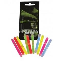 Mil-Tec - Zestaw 10 sztuk mini świateł chemicznych - Lightstick - 4,5x40mm - 5 Kolorów