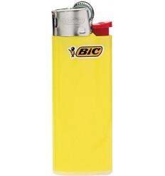 BIC - Zapalniczka gazowa / krzesiwowa J25 Mini - Żółty