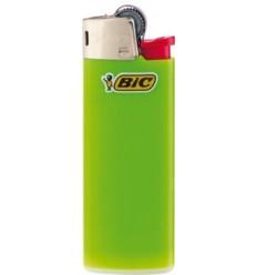 BIC - Zapalniczka gazowa / krzesiwowa J25 Mini - Neon Zielony