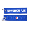 Brelok / Zawieszka do kluczy - REMOVE BEFORE FLIGHT - Air Force (Australia) - Niebieski