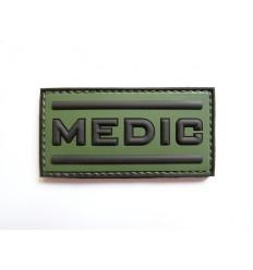 101 Inc. - Naszywka Medic - 3D PVC - Olive