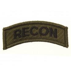101 Inc. - Naszywka RECON US Army / Rozpoznanie - Zielony Olive