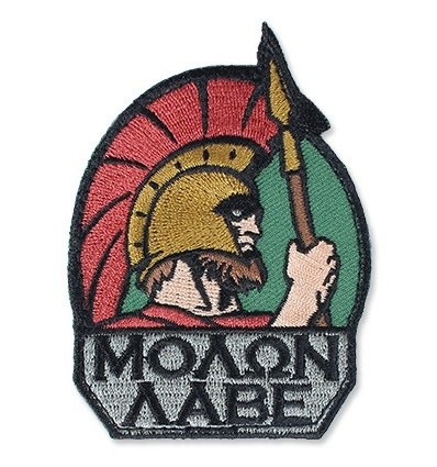 MIL-SPEC MONKEY - Naszywka Molon Labe - Full Color