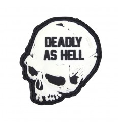 101 Inc. - Naszywka Deadly As Hell - 3D PVC - SWAT