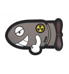 101 Inc. - Naszywka Funny Torpedo - 3D PVC - Szary