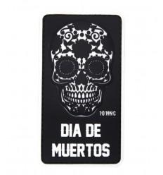 101 Inc. - Naszywka Dia De Muertos /Dzień Umarłych/ - 3D PVC - Czarny