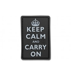 JTG - Naszywka 3D - Keep Calm and Carry On - SWAT