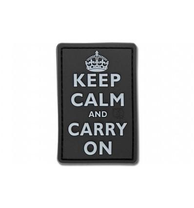 JTG - Naszywka 3D - Keep Calm and Carry On - SWAT