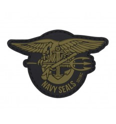 101 Inc. - Naszywka Navy Seals - 3D PVC - Coyote Brown