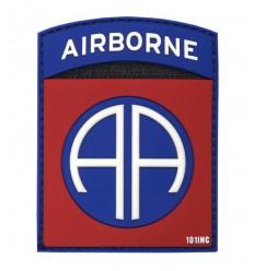 101 Inc. - Naszywka 82nd US Airborne Division - 3D PVC - Kolor