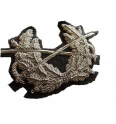 Naszywka na czapkę - Skrzyżowane szable z wieńcem Bundeswehra - oryginał