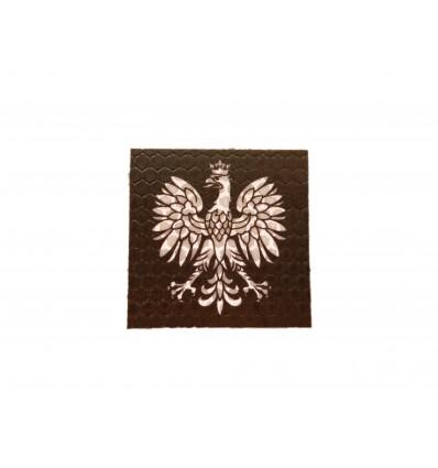 Combat-ID - Naszywka Orzeł Godło - Czarny - Gen I - B3