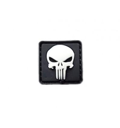 101 Inc. - Naszywka Punisher Micro Patch - 3D PVC - SWAT