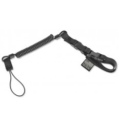 Cetacea Tactical -  Smycz Plain Clothes Mini-Coil Lanyard - Czarny