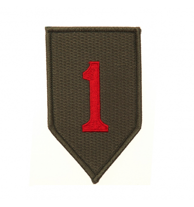 Patch - Naszywka 1st Infantry Division BIG RED ONE - Full Color