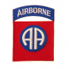 Patch - Naszywka 82nd US Airborne Division - Full Color