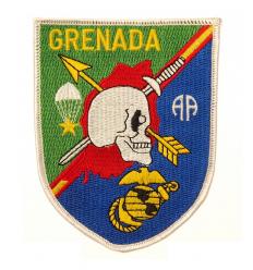 Patch - Naszywka GRENADA /Pamiątkowa- Inwazja na Grenadę/ - Full Color