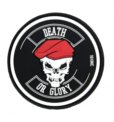 Patch - Naszywka DEATH OR GLORY - 3D PVC - SWAT