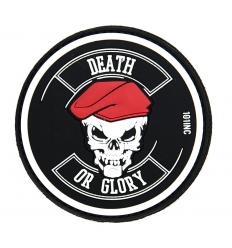 101 Inc. - Naszywka DEATH OR GLORY - 3D PVC - SWAT