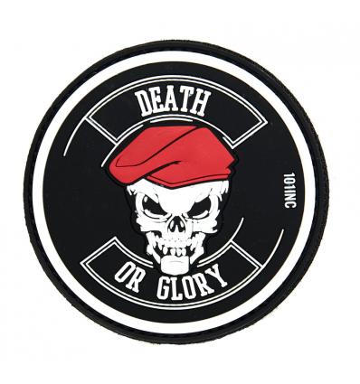 Patch - Naszywka DEATH OR GLORY - 3D PVC - SWAT