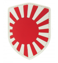 101 Inc. - Naszywka Japanese War Shield - 3D PVC - Color