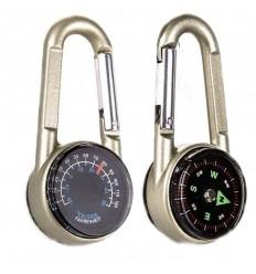 Explorer - Kompas Termometr Karabinek - Carabiner Compass - EXP23