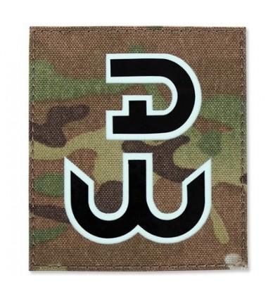Combat-ID - Naszywka Polska Walcząca - MultiCam - Gen III IR